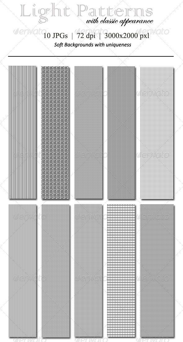 Light Patterns for Backgrounds - Patterns Backgrounds