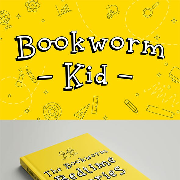 Bookworm Kid Display Font
