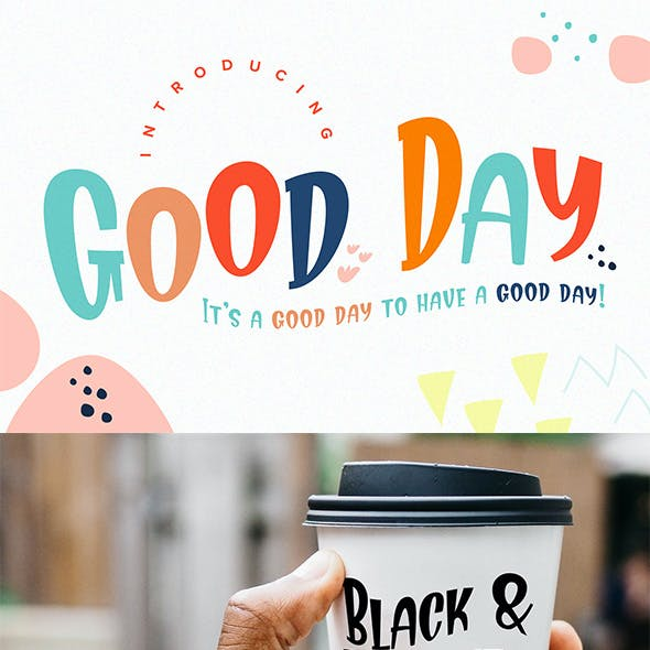 Good Day Fun Display Font
