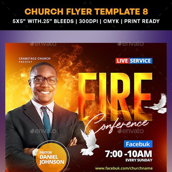 Church Flyer Template 8
