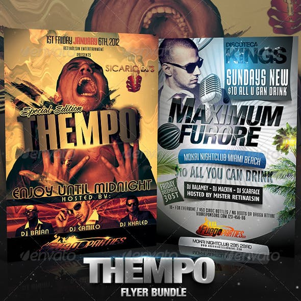 Thempo Flyer Bundle