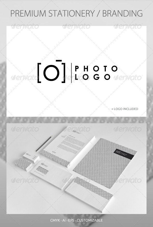 Photography - Corporate Identity - Stationery Print Templates