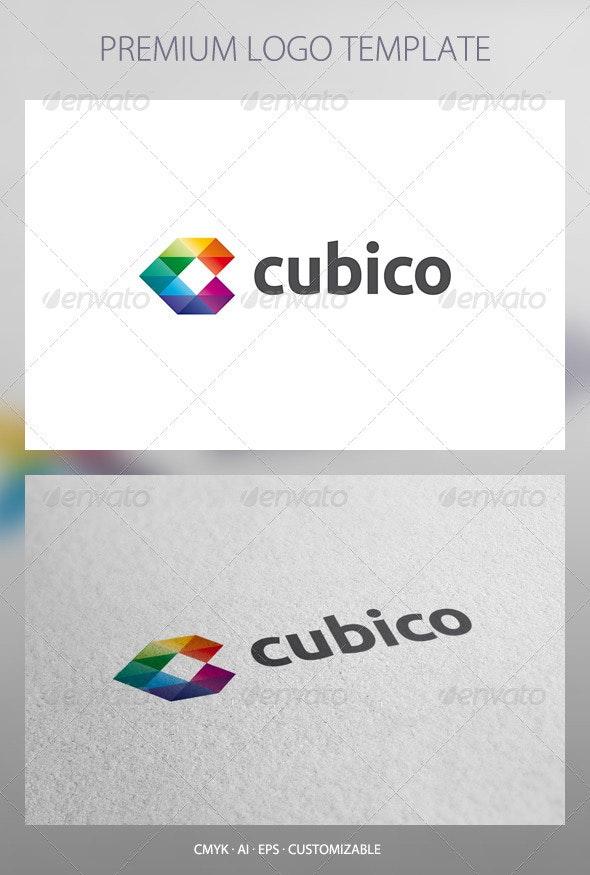 Cubico - Abstract Logo Template - Abstract Logo Templates