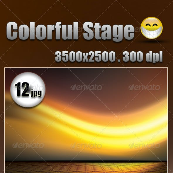 Colorful Stage