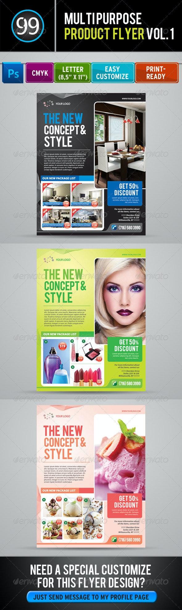 Promotion Flyer Vol 1 - Commerce Flyers