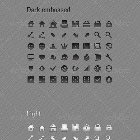 48 small icons