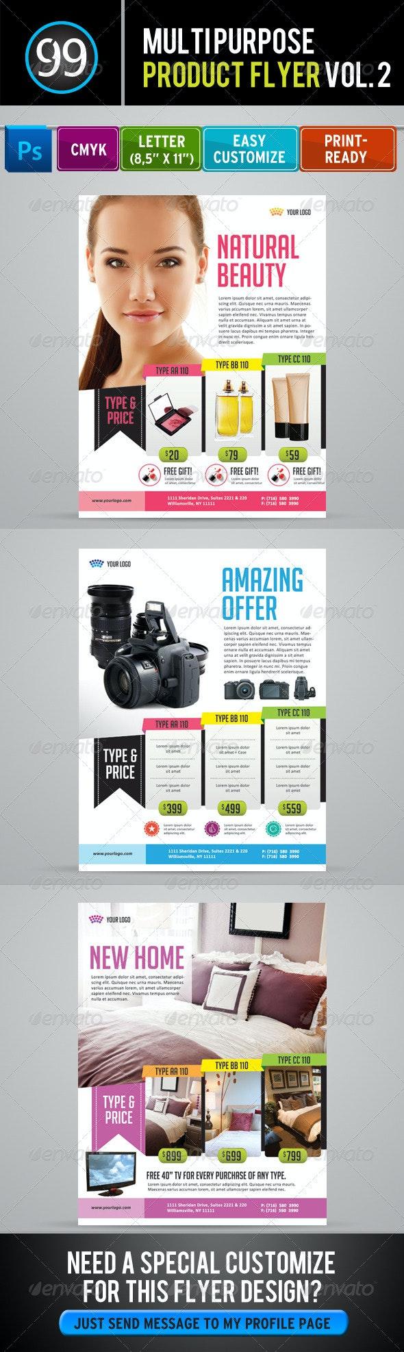 Promotion Flyer Vol 2 - Commerce Flyers