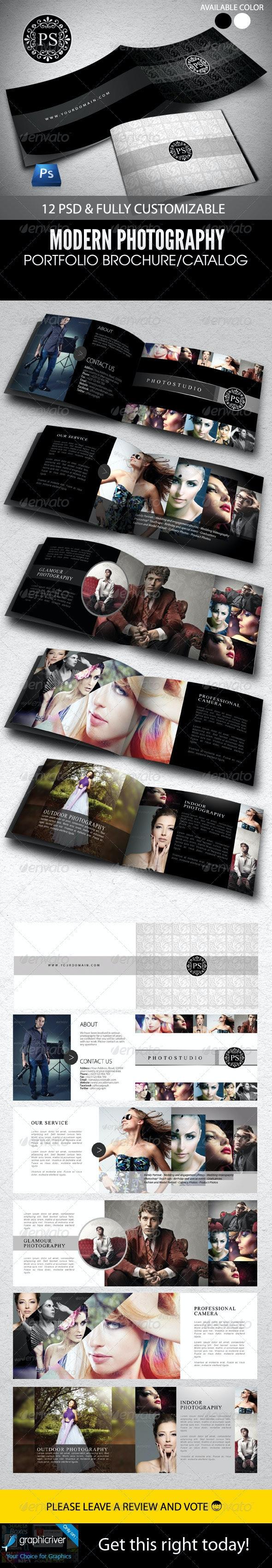 Modern Portfolio Brochure or Catalog  - Portfolio Brochures