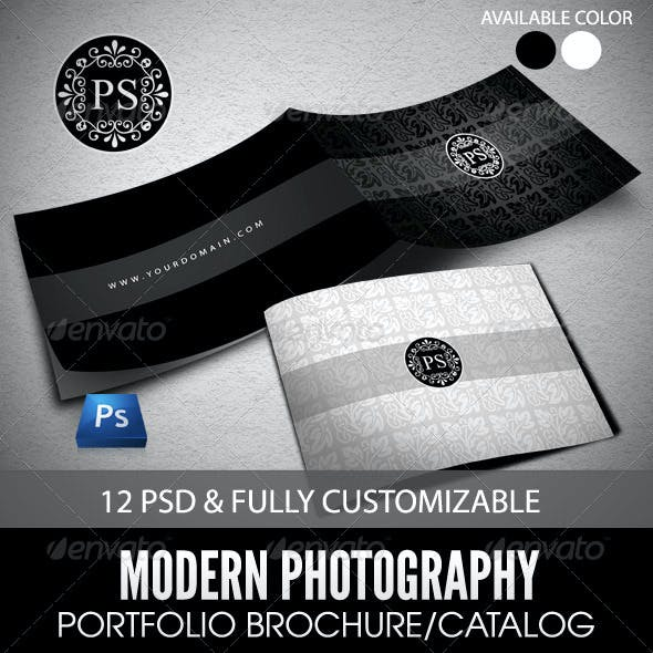 Modern Portfolio Brochure or Catalog