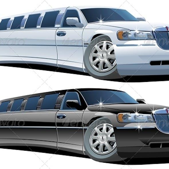 Cartoon Limousines Set