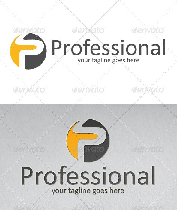 Professional Way logo - Letters Logo Templates