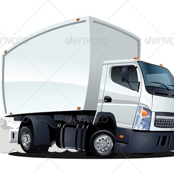 Delivery Cargo Cartoon Truck