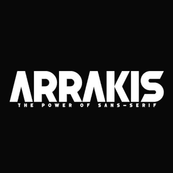 Arrakis The Power of sans-Serif