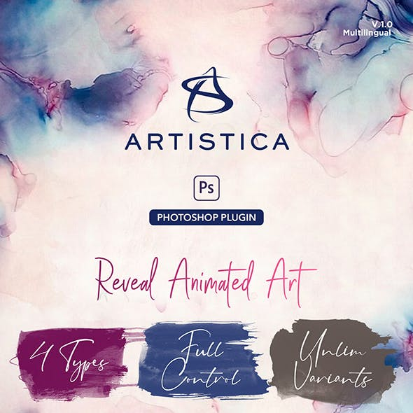 Artistica Photoshop Plugin For Watercolor Effects Animation