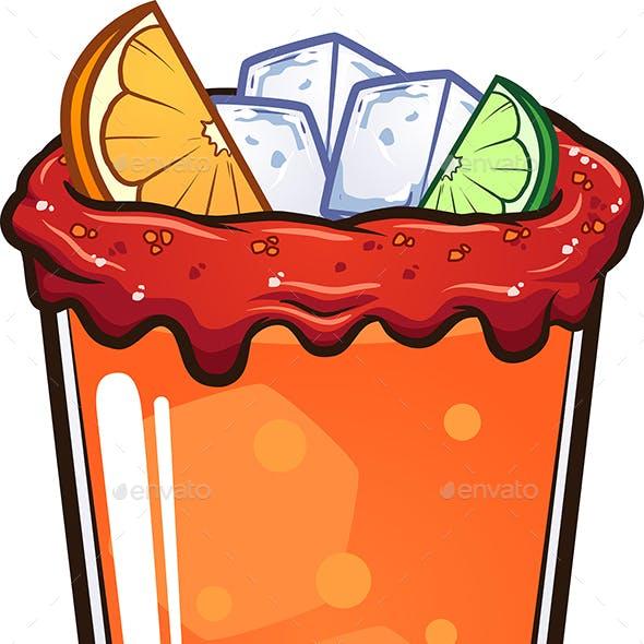 Michelada Drink