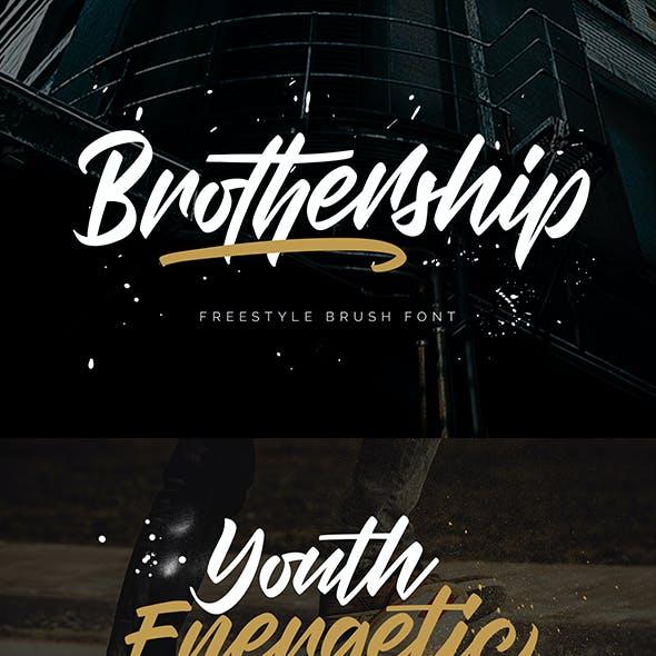 Brothership - Freestyle Brush Font