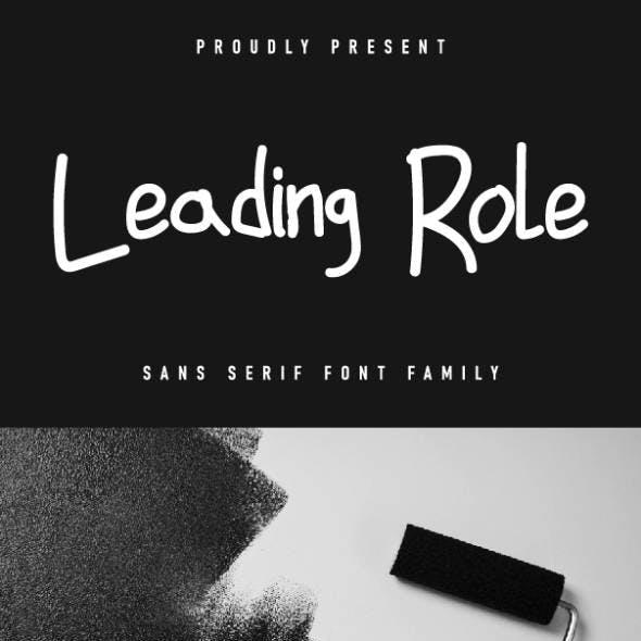 Leading Role Font