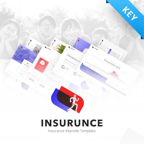 Insurunce Business Insurance Keynote Presentation Template