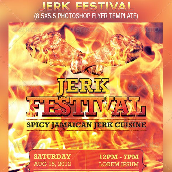 Jerk Festival Flyer Template