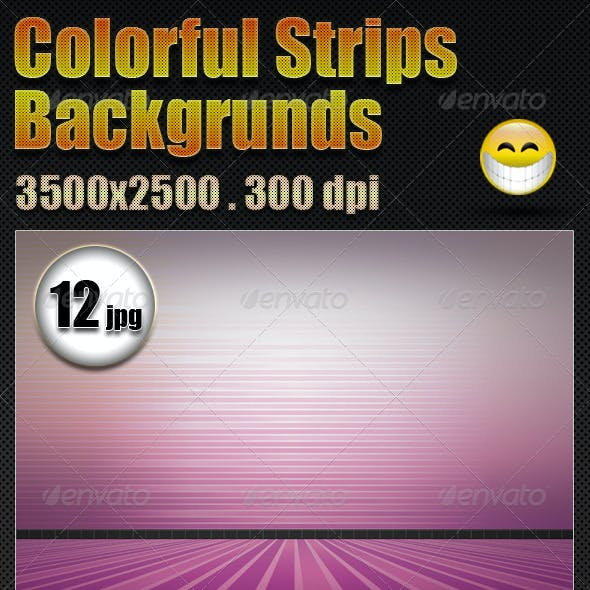 Colorful Strips Backgrounds