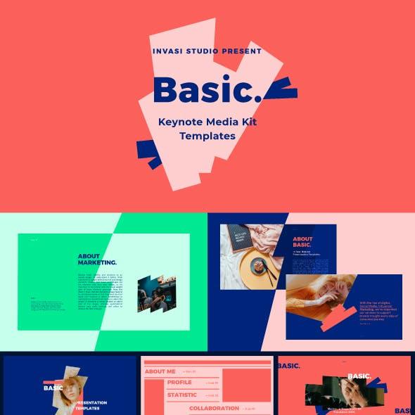 BASIC-Keynote Media Kit Presentation