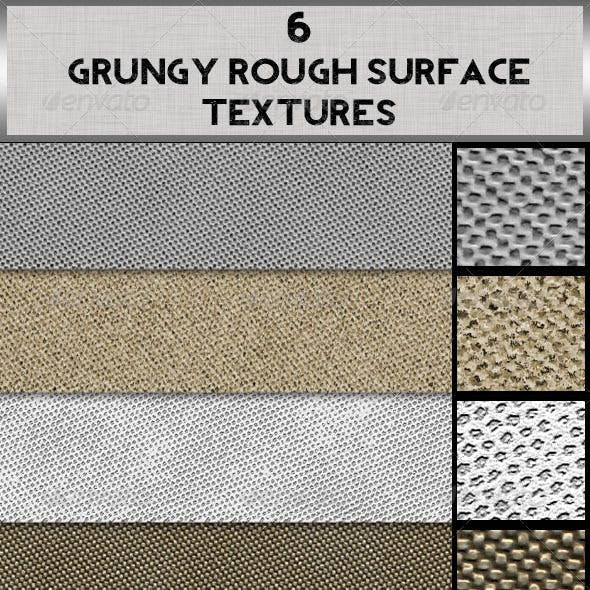 6 Grungy Rough Surface Textures