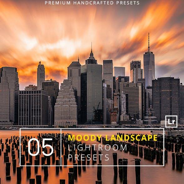5 Moody Landscape Lightroom Presets + Mobile