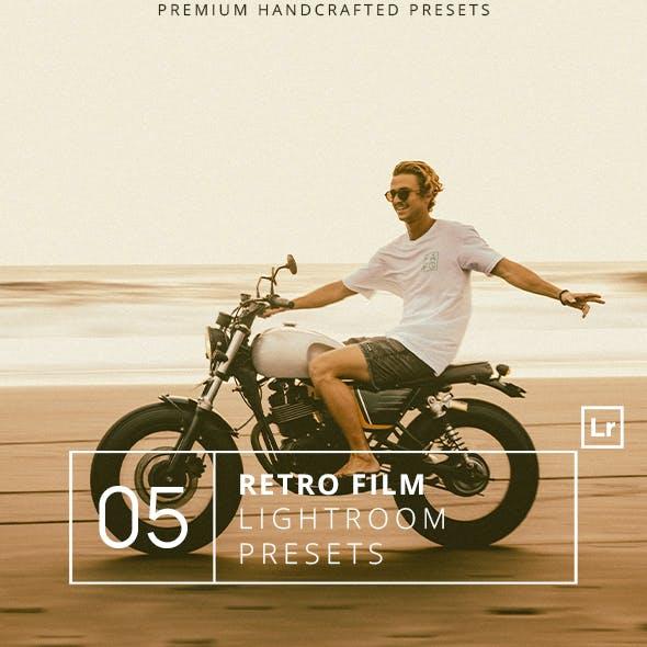 5 Retro Film Lightroom Presets + Mobile