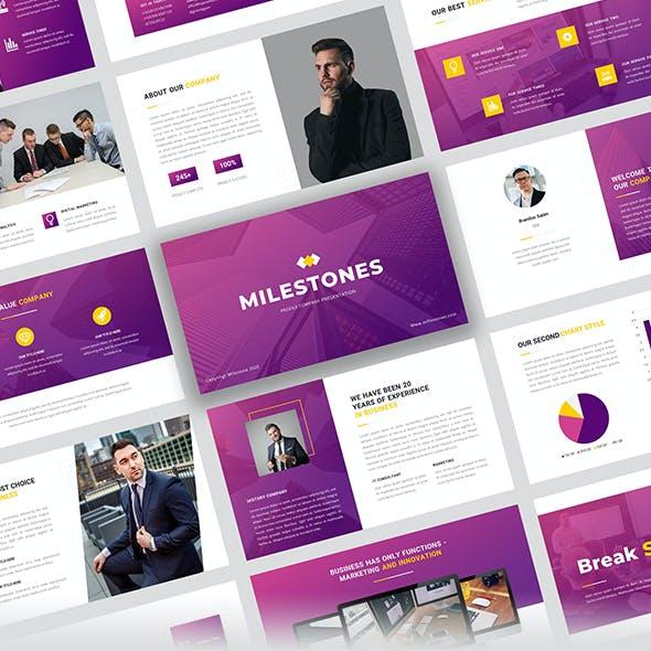 Milestones - Business Multipurpose Google Slide Presentation Template