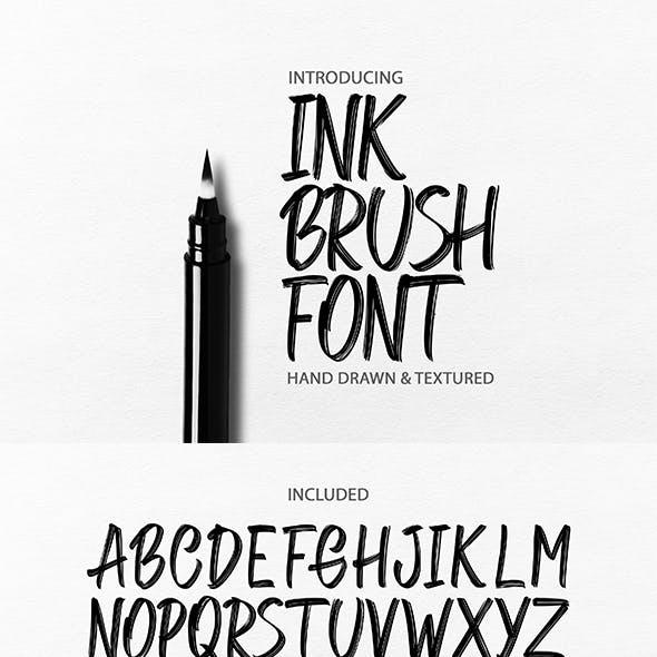 Ink Brush Font