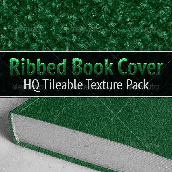 Ribbed Book Cover