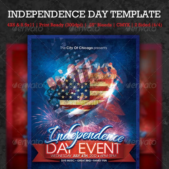 Independence Day Template