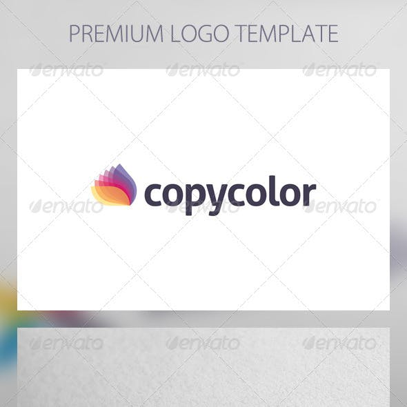 Copy Color - Abstract Logo Template