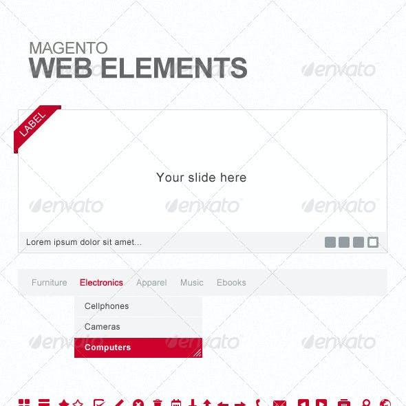 Magento Webshop Elements