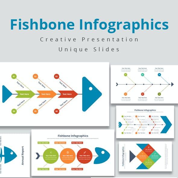 Fishbone Infographics Keynote Template
