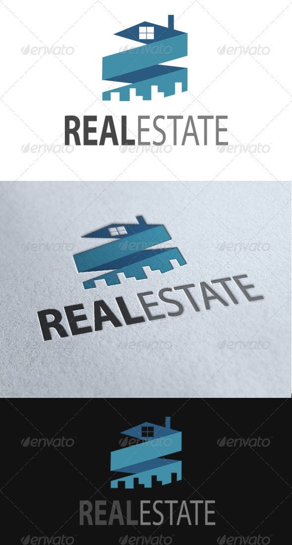 Real Estate Vector Logo - Objects Logo Templates