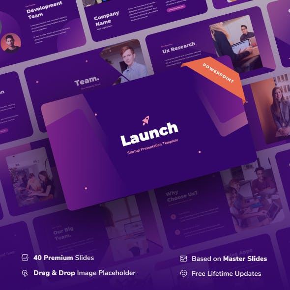 Launch - Startup Power Point Presentation
