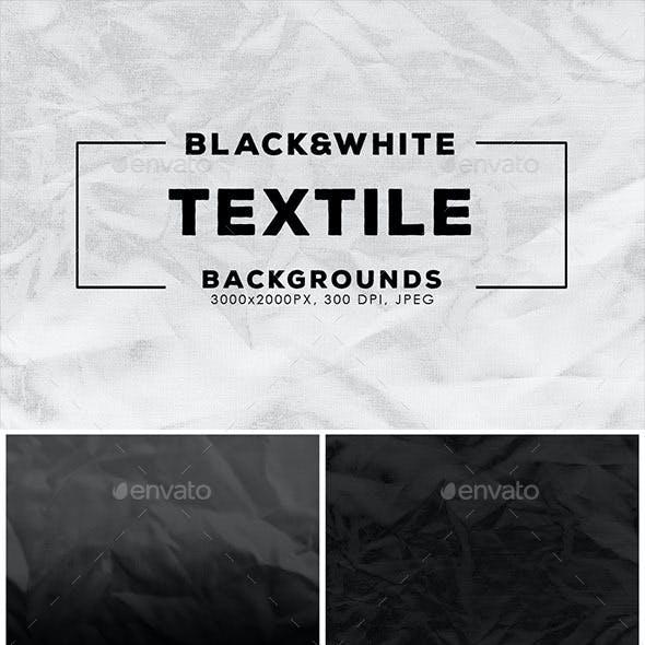 Textile Black & White Backgrounds