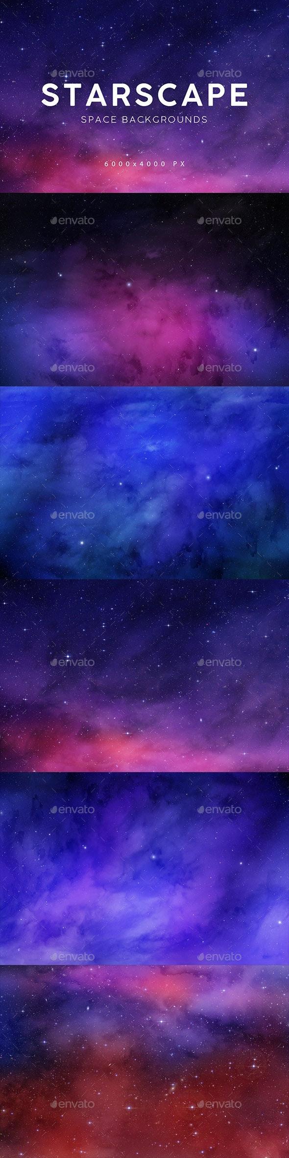 Starscape Backgrounds 2 - Tech / Futuristic Backgrounds