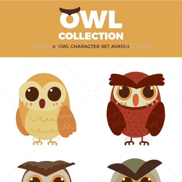 Owl Character Collection