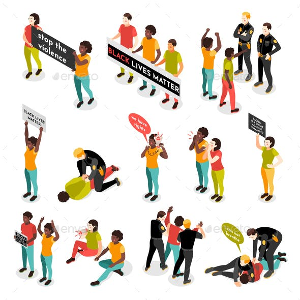 Black Lives Matter Icons