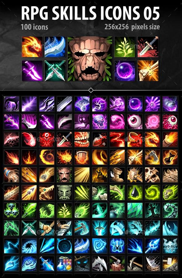 RPG Skills Icons 05