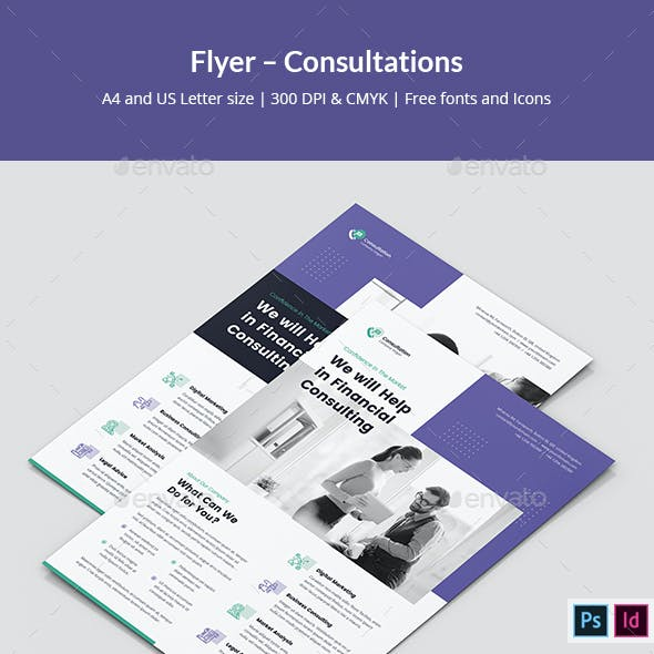 Flyer – Consultations
