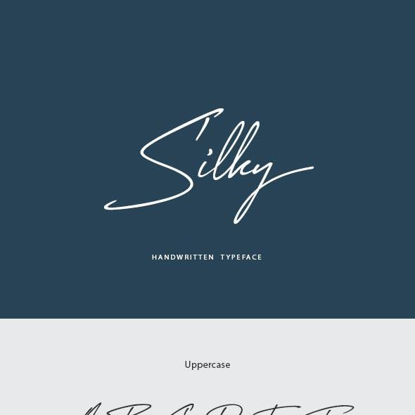 Silky Handwritten Font