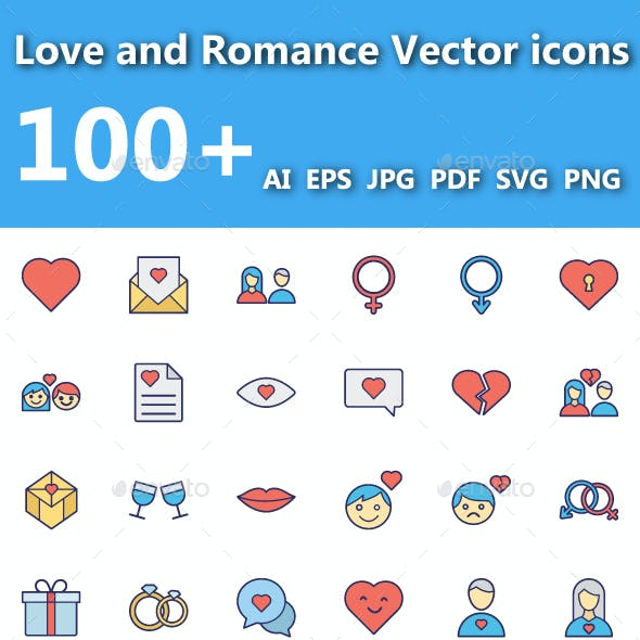 Love & Romance Vector Icon