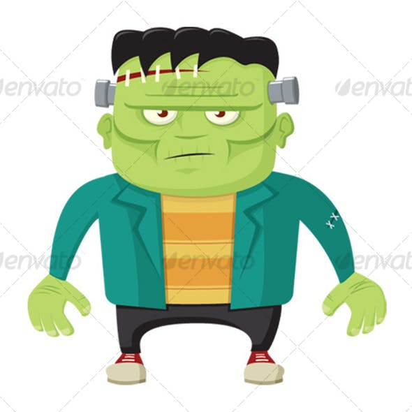 Cartoon Frankenstein's Monster