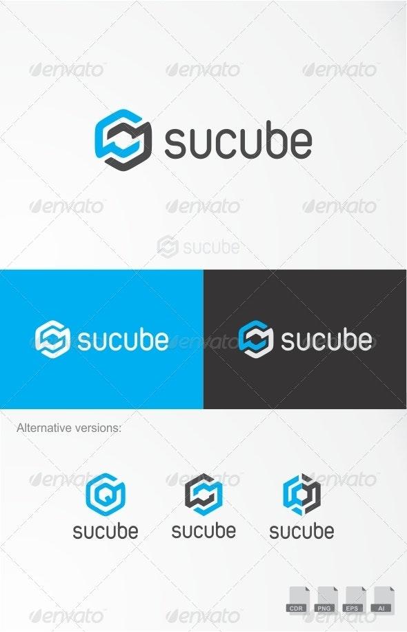 Sucube - Web 2.0 Logo - Symbols Logo Templates
