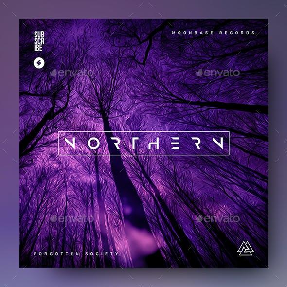 Northern – Music Album Cover Artwork / Video Thumbnail Template