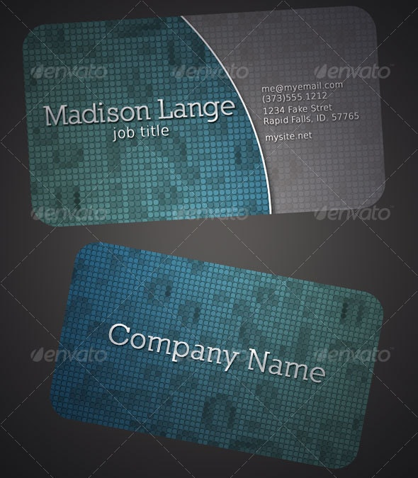 Professional Business Cards - Corporate Business Cards