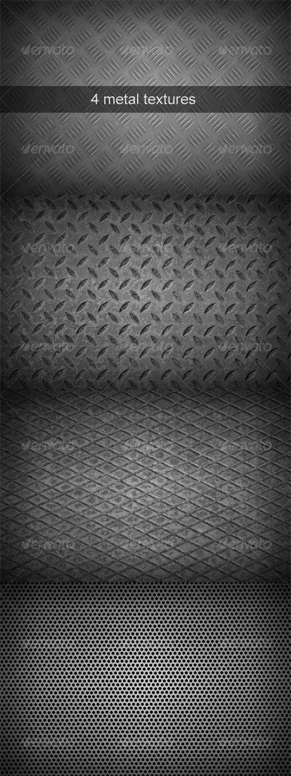 Metal Textures Pack - Metal Textures